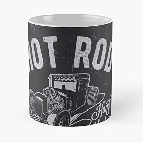 Antique Car Racing Hot Rod Racer Mugs Funny Gift