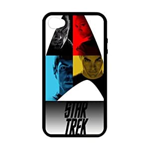 CSKFU[Perfect-Fit] iphone 6 4.7 inch iphone 6 4.7 inch Case, [star trek]iphone 6 4.7 inch iphone 6 4.7 inch Case Custom Durable Case Cover for iPhone4s TPU case (Laser Technology)