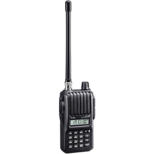 Icom Original IC-V80 SPORT 144 MHz Handheld Transceiver, 5.5 Watts, Comes with AA Battery Case (BP-263), Antenna (BNC) and Belt Clip