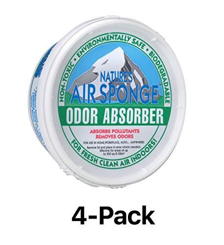 Delta Nature 's Air Esponja Olor Amortiguador sin Perfume Tubo de plástico 1/0.9Kilogram.