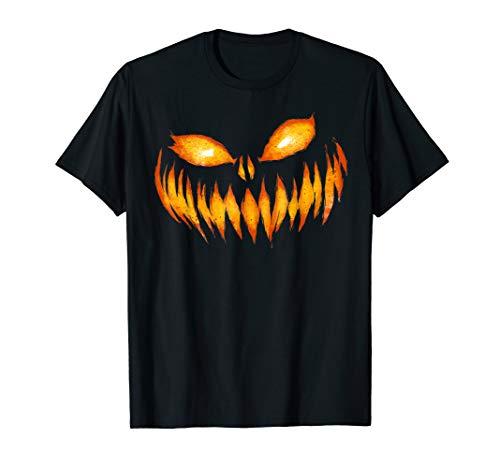 Jack O Lantern Scary Carved Pumpkin Face Halloween Costume