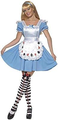 Smiffys Smiffys-39474M Alice in Wonderland Disfraz de Nina baraja ...