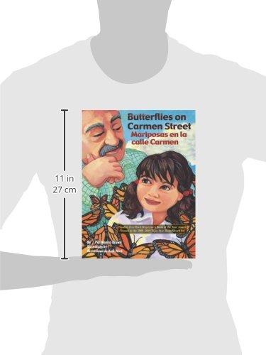 Butterflies on Carmen Street/ Mariposas en la calle Carmen (English and Spanish Edition)