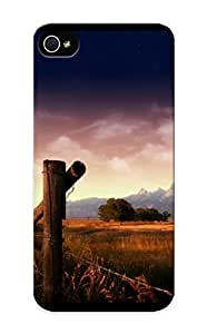 Artistgirl High-end Case Cover Protector For Iphone 5/5s(old Ranch )