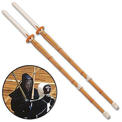 Kendo Shinai Bamboo Practice Katana Set ()