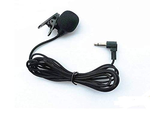 Lavalier Microphone Hands Free Clip-on Lapel Mic with Omnidirectional Condenser for Podcast, Recording, DSLR,Camera, Smartphone, Sony,PC,Laptop