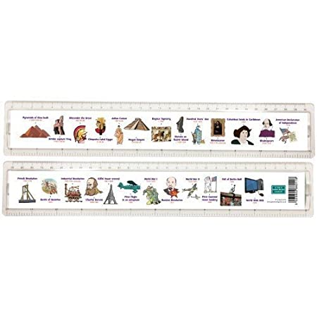 Green Board Games History Timeline Ruler Amazon Co Uk Toys Games