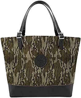 product image for Duluth Pack Deluxe Market Tote, Mossy Oak Bottomland