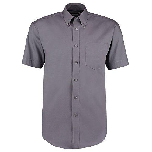 Kustom Kit - Camisa casual - para hombre gris oscuro