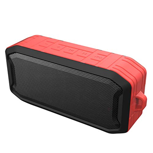 Winner666 2019 HiFi Portable Wireless Bluetooth Speaker Stereo Sound Bar TF Subwoofer Column Speakers with Hand Strap for Samsung Computer Phones (RED)