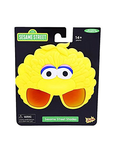 Costume Sunglasses Sesame Street Big Bird Sun-Staches