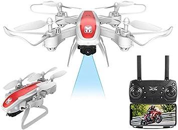 AJINS Drone Ultraligero y portátil Drone KY909 RC Drone con cámara ...