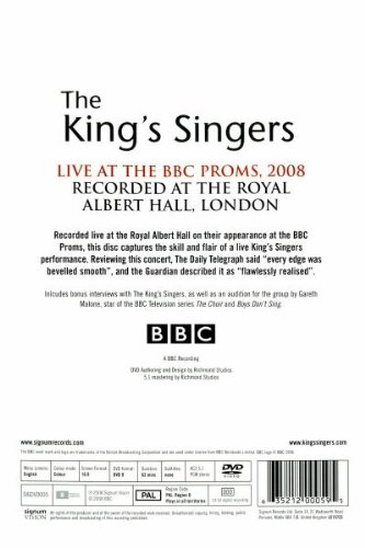 The King's Singers: Live at the BBC Proms by Signum