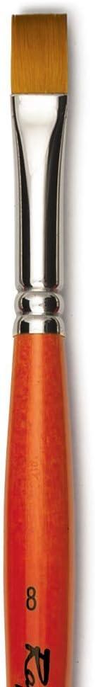 Flat Size 08 Raphael Kaerell Synthetic Brush Oil and Acrylic Series 879