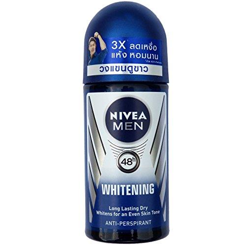 NIVEA for Men 50 ml roll - whitening deodorant for men first.