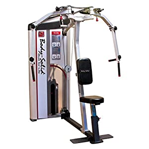 Body-Solid S2PEC-1 Pro Clubline Series II PEC Fly and Rear Delts Machine with 160 Lb. Weight Stack for Home and…