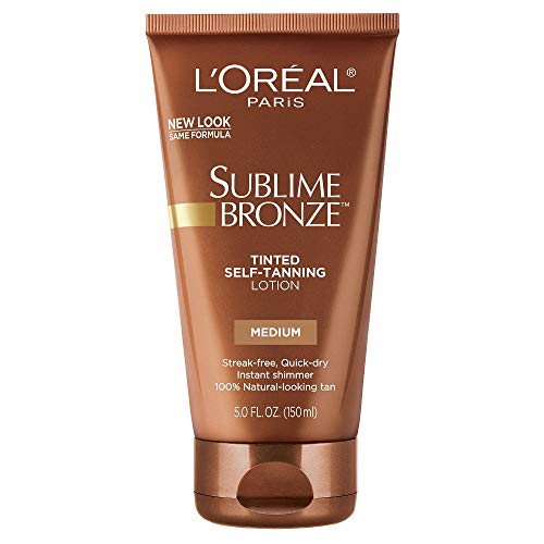 LOreal SUBLIME BRONZE Self Tanning Natural