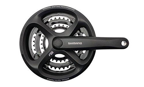 Shimano FCM171C244C3 (171) 6/7/8 Spd Square Crankset 170mm x 42x34x24 Black