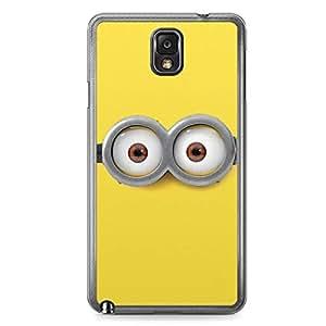 Minion Samsung Galaxy Note 3 Transparent Edge Case - O