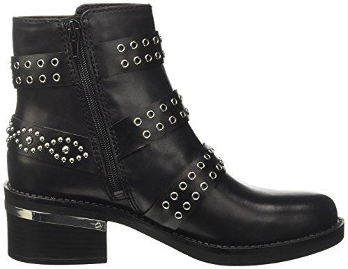 Zapatos Tacón Nero Negro Fifieu para de Mujer Guess 5tZwCqUW