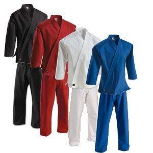 Century Martial Arts 8 oz. Middleweight Brushed Cotton Uniform - White, 4 - Adult Medium