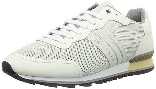 BOSS Green Parkour_runn_ltnu 10195490 01, Zapatillas para Hombre Blanco (White 100)