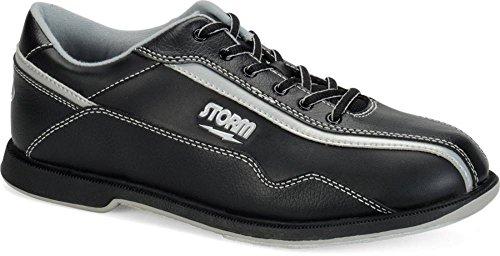 UPC 091502062986, Storm Volkan Bowling Shoes, Black/Silver, 8.0
