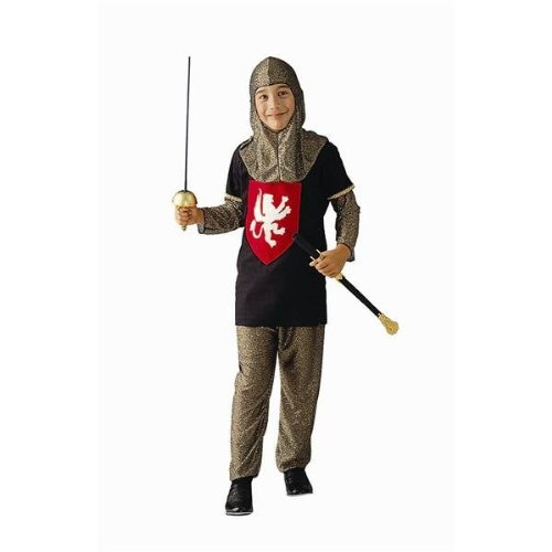 Blue Medieval Knight Costumes (Medieval Knight - Child Large Blue Costume)