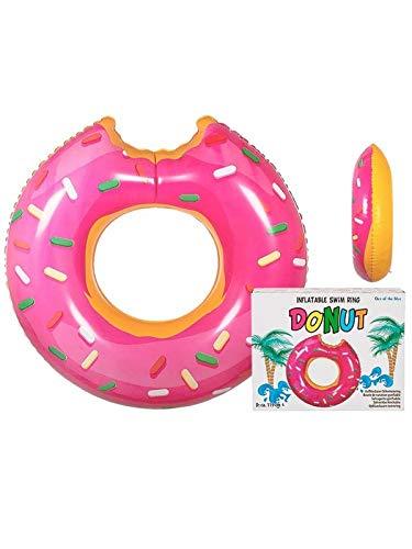 DISBACANAL Flotador Donut Rosa
