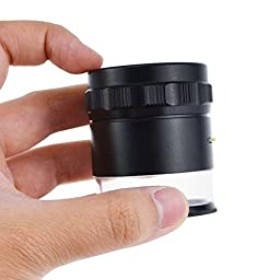 Magnifier 10 X 25mm Loupe Interchangeable Reticle Scale