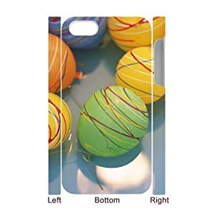 3D Bumper Plastic Case Of Balloon customized case For Iphone 4/4s