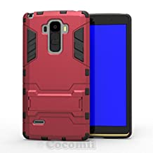 LG G Stylo / G4 Stylus / G4 Note Case, Cocomii® [HEAVY DUTY] Iron Man Case :::NEW::: [ULTRA WAR ARMOR] Premium Shockproof Kickstand Bumper [MILITARY DEFENDER] Full-body Rugged Dual Layer Cover for LG G Stylo / G4 Stylus / G4 Note ★★★★★ (Red)