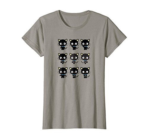 Womens Chococat Many Expressions Tee XL Slate