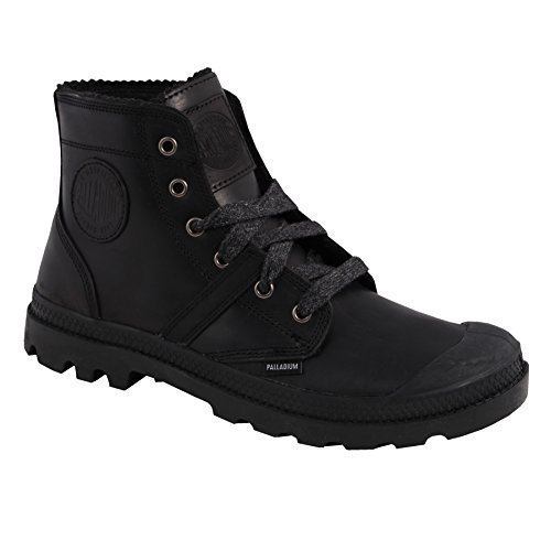 Palladium, Sneaker uomo Nero (Black/Metal)