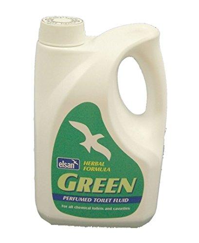 2lt Elsan Green Herbal Formula Toilet Chemical Caravan Motorhome
