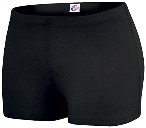 Boy-Cut Briefs Black Small (Cheerleading Cut Boy Briefs)