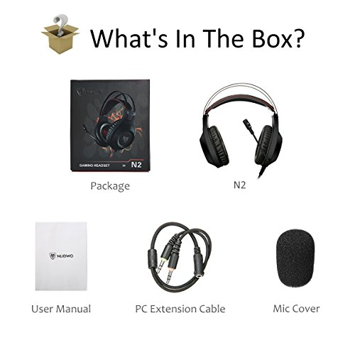 Computer Headsets, ELEGIANT Over-Ear Gaming Headphones with Microphone, Bass Stereo Surround Sound Volume Control, Compatible with PS4 Pro/PS4 Xbox One Nintendo Switch PC Mobilephone Laptop Mac-Black by ELEGIANT (Image #6)