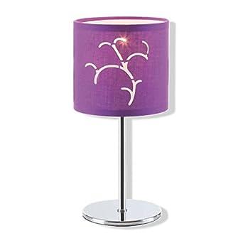 MauveLuminaires Lampe Roller Et De Chevet Violet vNn0ym8wO