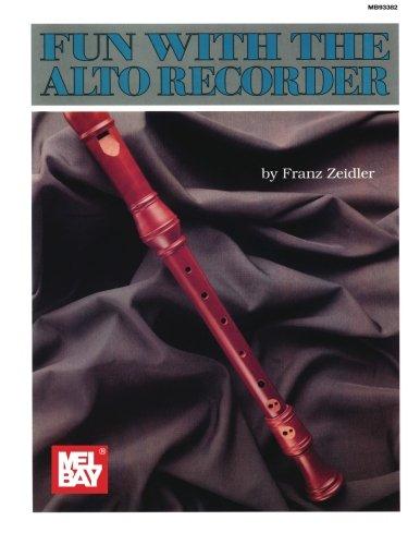 Mel Bay's Fun With the Alto Recorder (Inglese) Copertina flessibile – 1 giu 2015 Franz Zeidler Mel Bay Pubns 0871664305 Mel-3783
