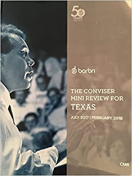The Conviser Mini Review for Texas - July 2017/February 2018