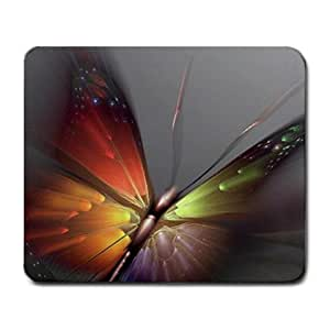 Pretty Butterfly Art Mouse Pad by mcsharks
