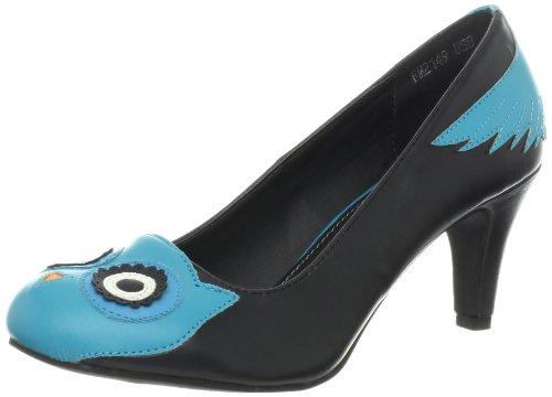 T.U.K. Character Heel, Women's Closed-Toe Noir (A8298l)