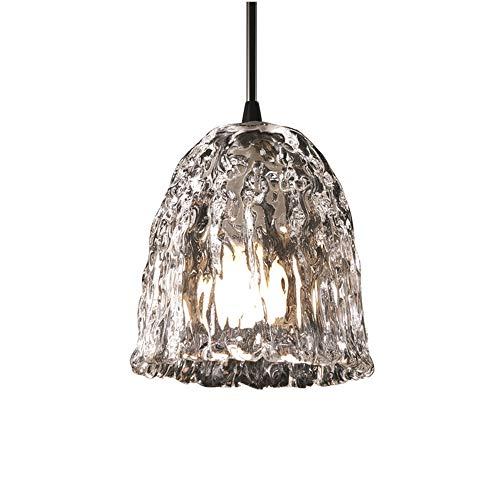 - Justice Design Group GLA-8815-56-CLRT-MBLK Veneto Luce Single Light 5-3/4
