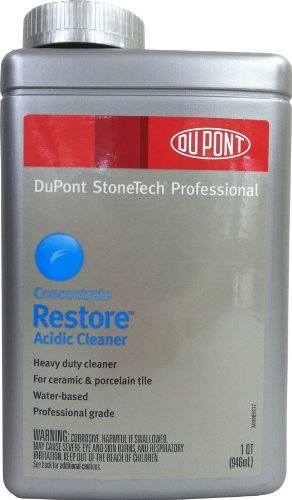 - Laticrete StoneTech Professional RESTORE CLEANER CONC Quart by Stonetech Restore Quart