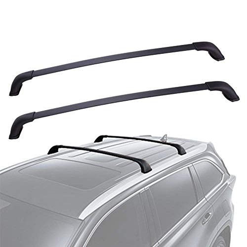 YITAMOTOR Roof Racks Cross Bars for 2014-2019 Toyota Highlander XLE Limited, Crossbars Cargo Racks Rooftop Luggage Canoe Kayak Carrier Rack