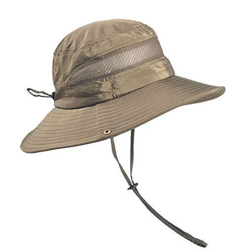 anaoo Chapeau Homme, Chapeau de Soleil, Chapeau Eté Pliable, Casquettes Visières Anti-UV, Séchage Rapide et Protection… 2