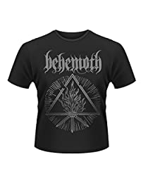 Behemoth T Shirt Furor Divinus Band Logo Official Mens Black
