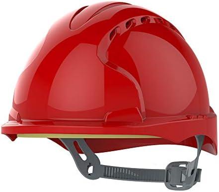 JSP ajh160 – 000 – 600 EVO3 Micro Peak casco de trinquete, con ranuras de ventilación), color rojo: Amazon.es: Industria, empresas y ciencia