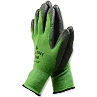 Pine Tree Tools Bamboo Working Gloves for Women and Men. Ultimate Barehand Sensitivity Work Glove for Gardening, Fishing, Clamming, Restoration Work - S,M,L,XL (1 Pack XL)