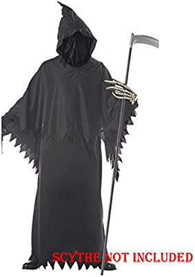 Amazon.com: Kiar Grim Reaper - Disfraz para niños de ...